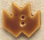 43049 - Gold Maple Leaf - 1in x 7/8in